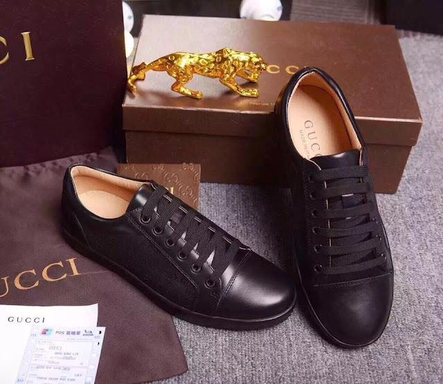 Giày da trơn mềm mịn Gucci 1.600.000 VNĐ