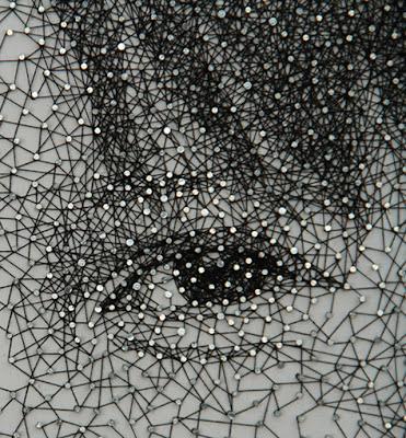 Arte con hilos presentado por Recicla Inventa