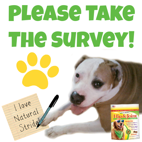 Take the #NaturalStride survey!