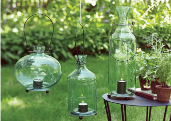 Awesome Outdoor Garden Lightings Recycling Center