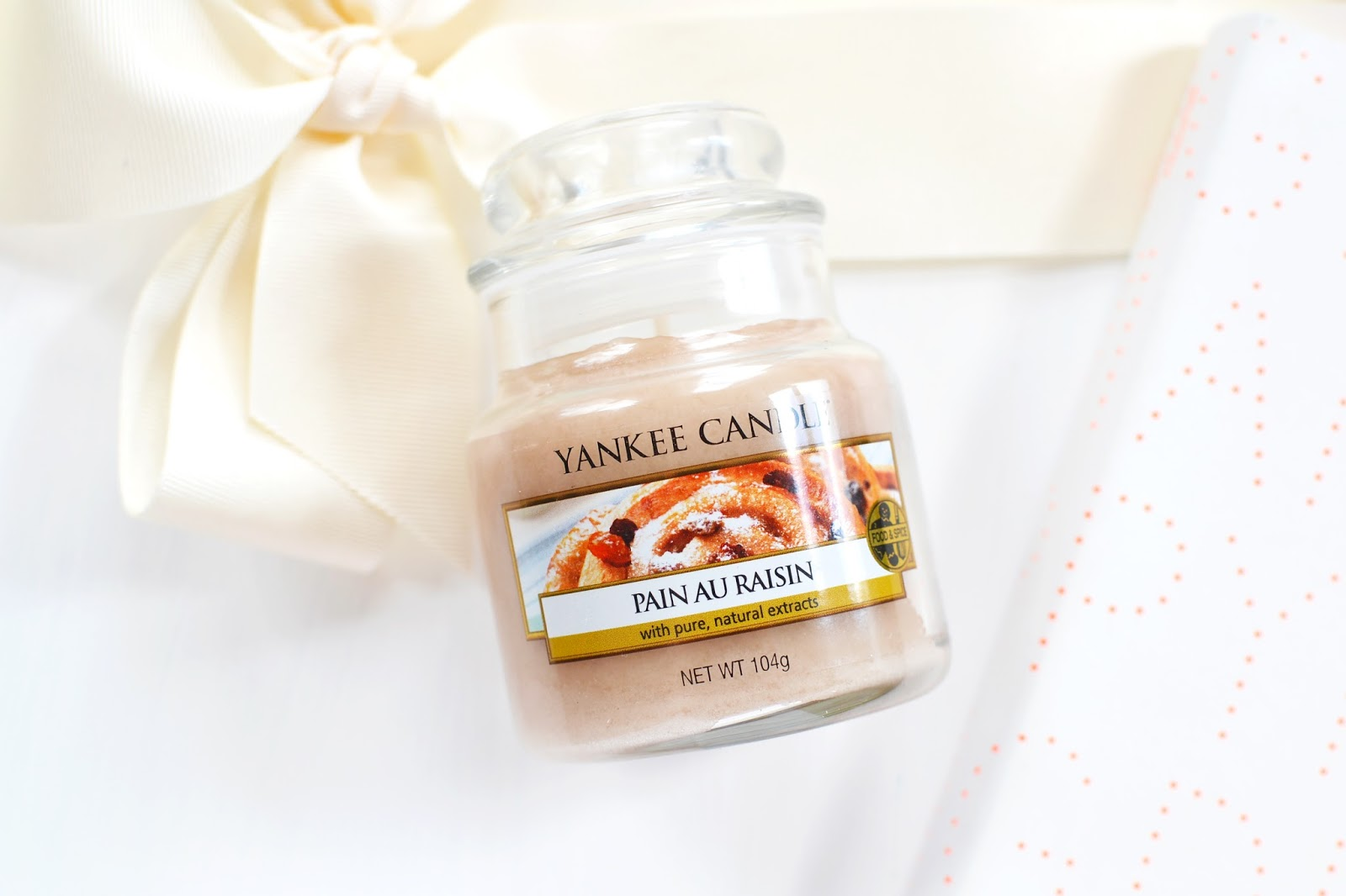 Pain au Raisin Scented Candle from Yankee Candle Cafe Culture