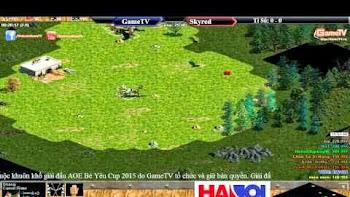 Bé Yêu Cup 2015 - Vòng quần chiên | GameTV 1 vs Skyred