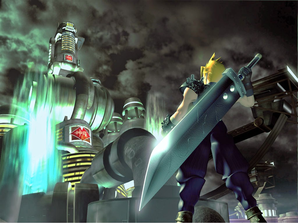 HD screen shots Final Fantasy 7 images
