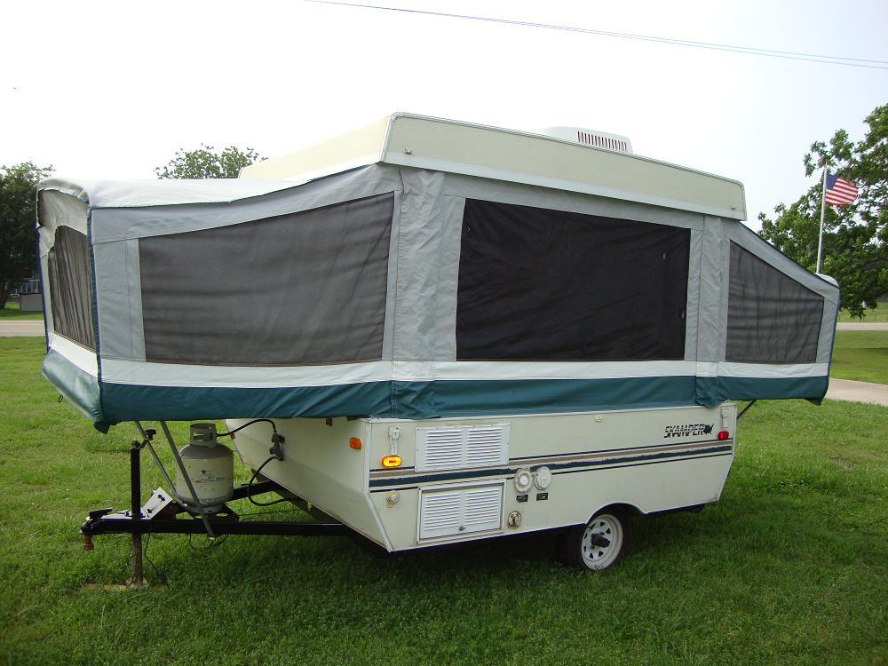 FOR SALE: Pop up Camper Skamper Sport M-17B 17' - $2,500 (Soper)