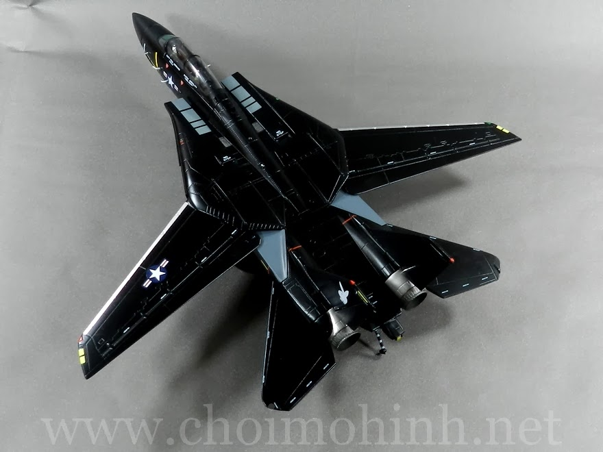 F-14A Tomcat VX-4 Evaluators Vandy 1:72 Witty Wings up
