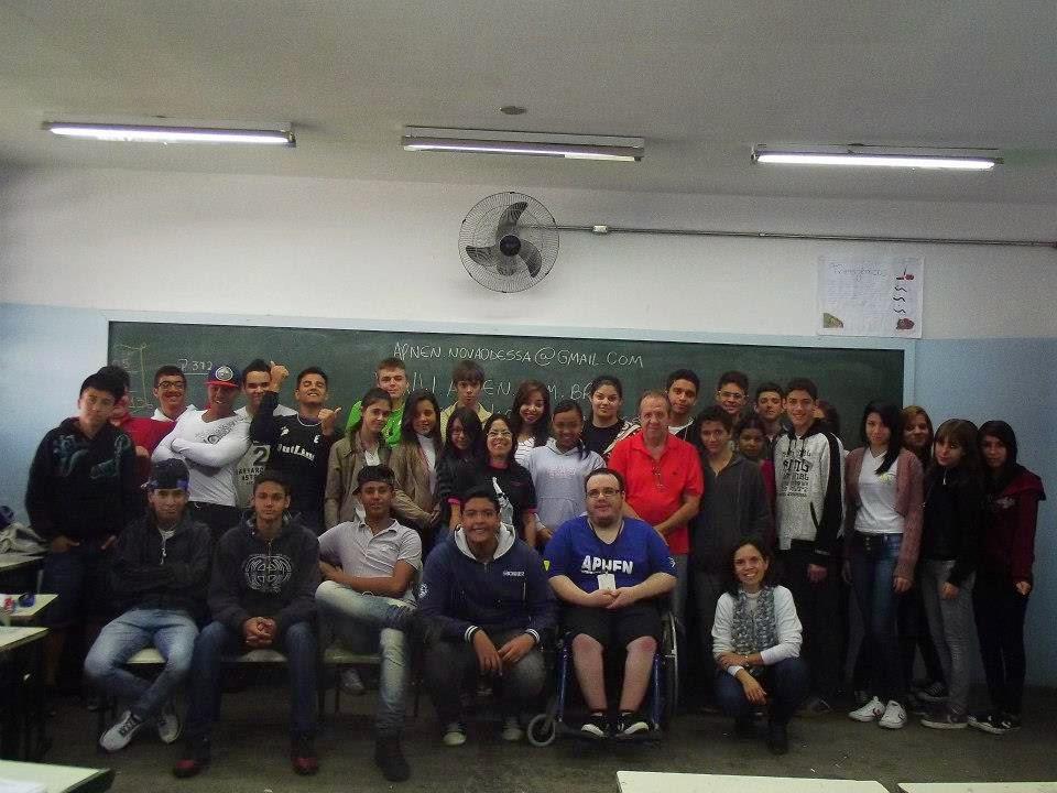 Visita a Escola São Joaquim - 2013