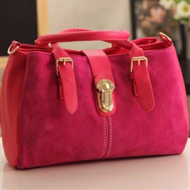 ELEGANT FASHION SUEDE LEATHER BAG 3 WARNA PILIHAN