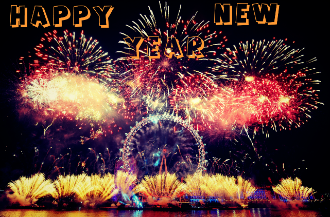 very happy new year 2015 animated hd wallpaper