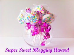 "Premio:""Super Sweet Blogging Award"""