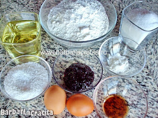 Fursecuri cu nuca si gem ingrediente reteta
