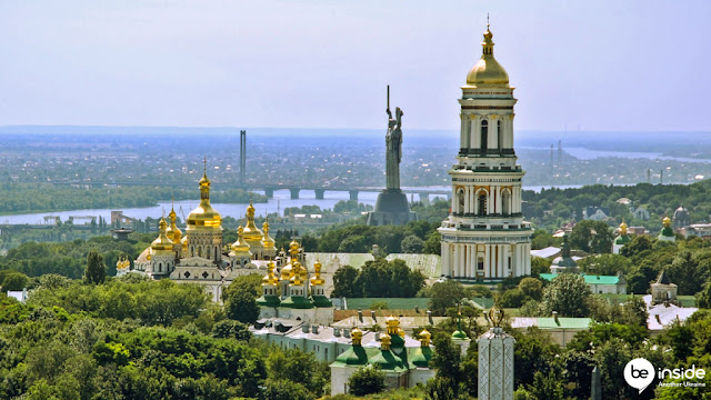 eurovision 2017 kyiv where to go pechersk lavra motherland