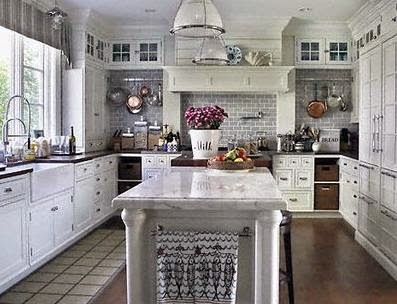 Modern country house kitchen House interior