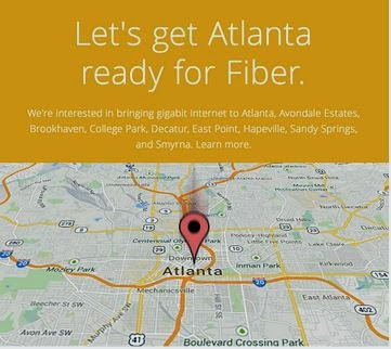 Google Fiber in Atlanta