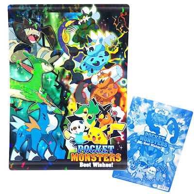 Pokemon BW Legendary series Horogram Plastic Board ShowaNote