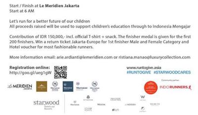 Jakarta 5K Run To Give 2015