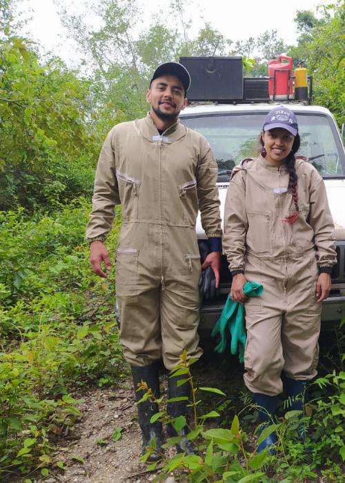 Upetecistas participan en investigación para el mejoramiento de la genética y nutrición de las abejas en Huila
