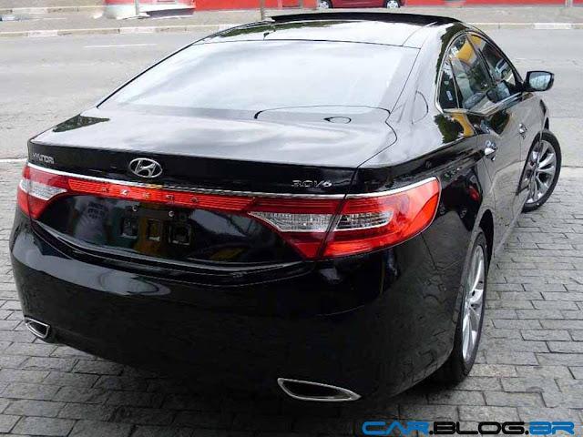 Hyundai Azera 2013 - traseira
