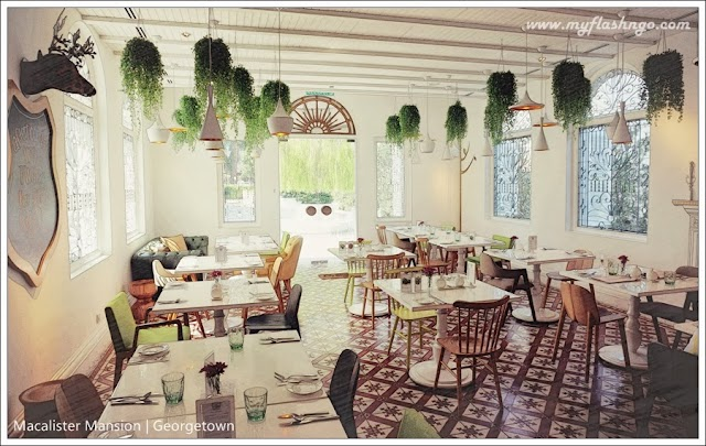 槟城美食 | Macalister Mansion 新菜单 @ Georgetown