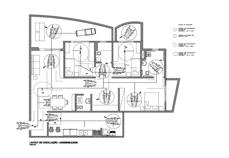 Liza Prado: Projeto sobre Desenho Universal em moradia começa a  #3E3E3E 1214x839 Acessibilidade Idosos Banheiro