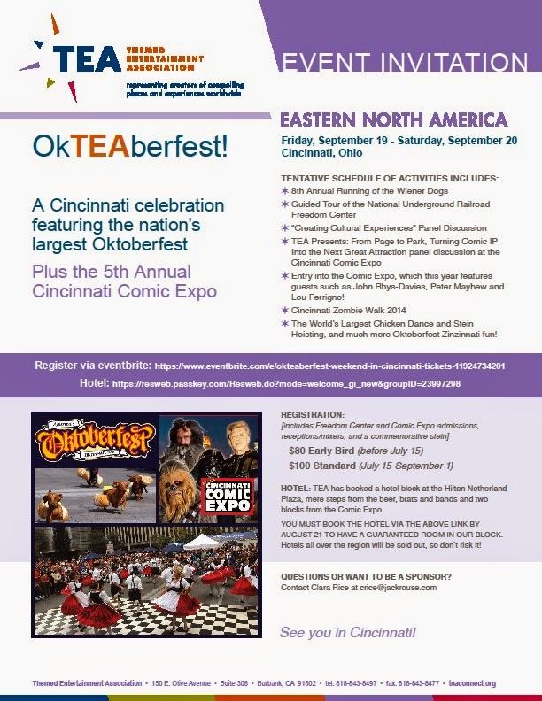 "Cincinnati, Sept 19-20: ""OkTEAberfest"""