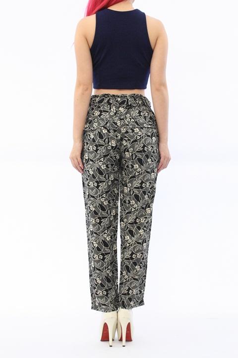 SH285 Black Floral Lace