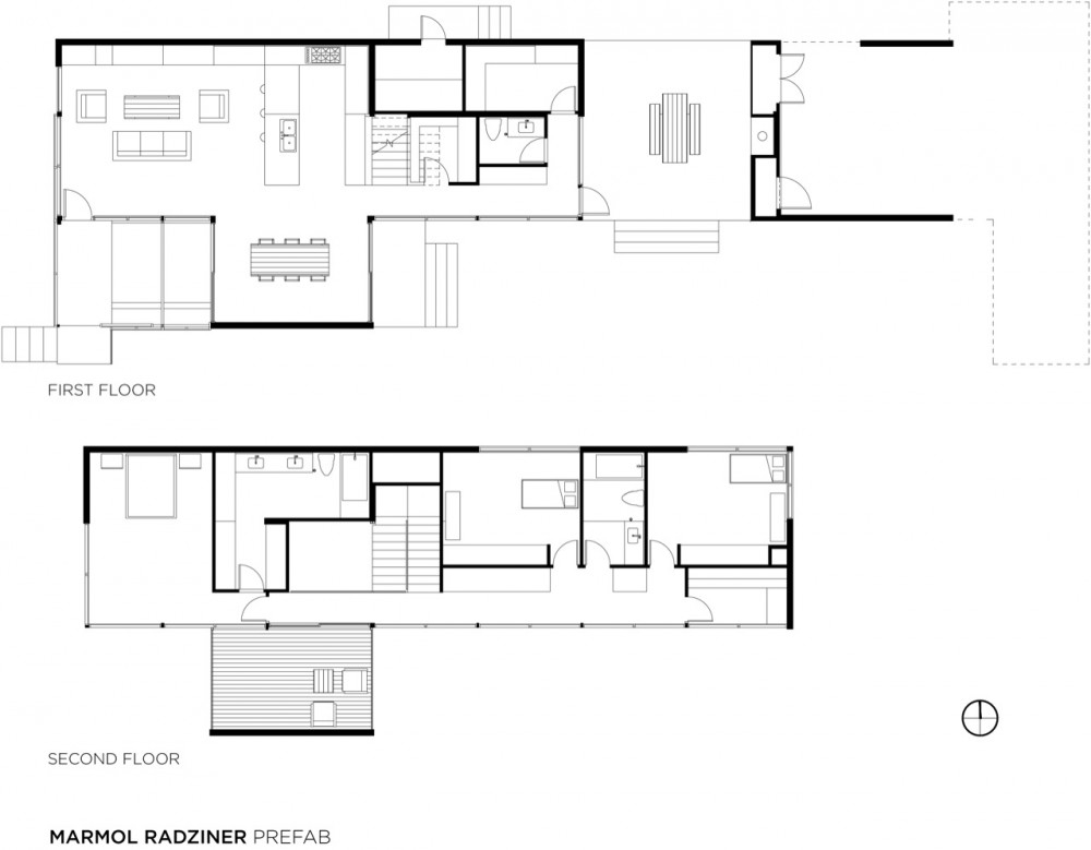 Prefab home california modern prefab modular homes for Modern modular home floor plans