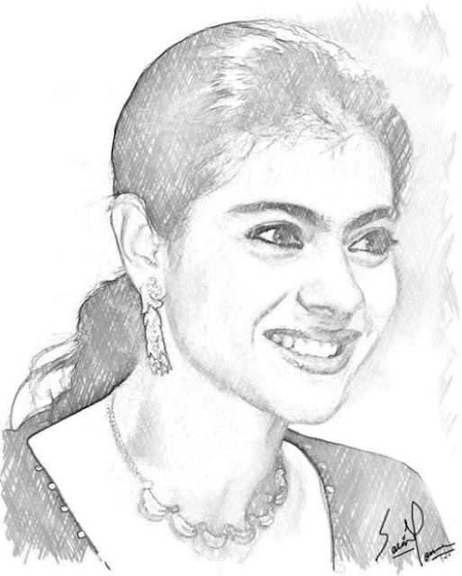Best Celebrity Pencil Sketch 07