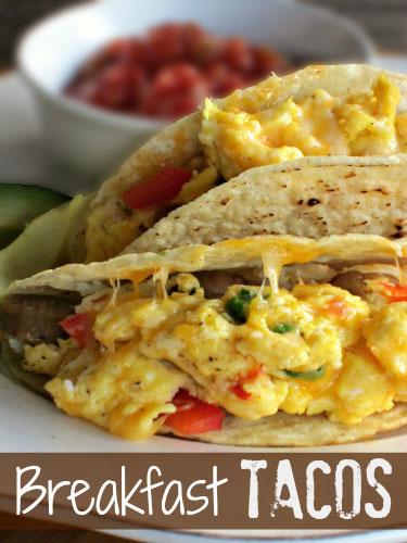 Breakfast Tacos - Sugar n' Spice Gals