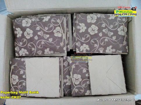 Paperbag Motif Batik unik