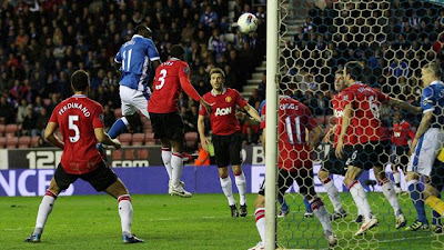 Wigan Athletic Manchester United video but 1-0
