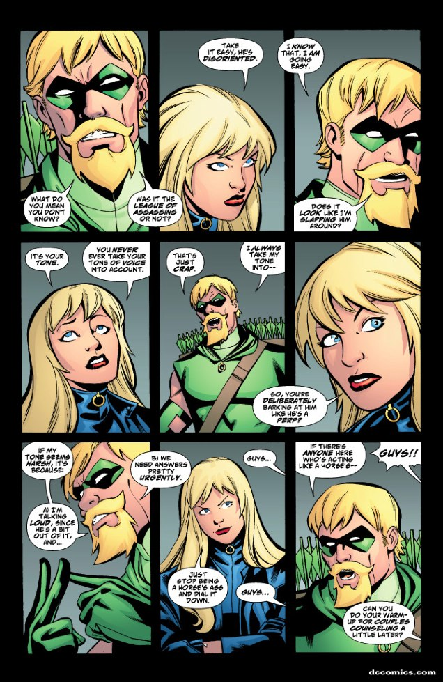 Black Canary and Green Arrow at 1044 AM 0 comments