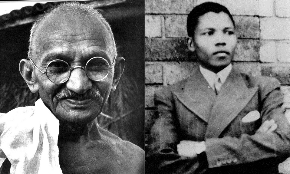 mohandas gandhi and nelson mandela essay This is an essay about mahatma gandhi and it was this universality that influenced martin luther king and nelson mandela documents similar to mohandas gandhi.