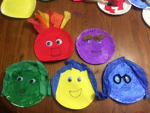 Working Mom Wonders Inside Out Emotions Craft