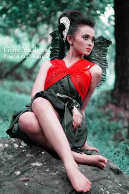 photo cantik bergaya model 2013