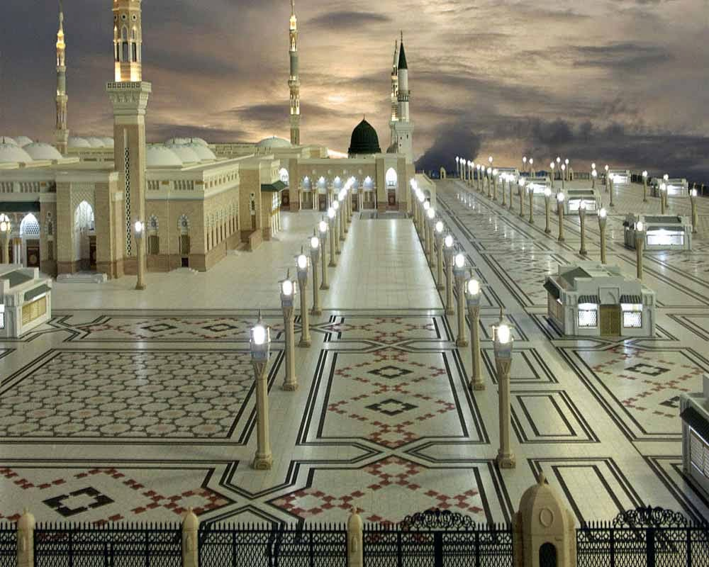 Islamic Hd Wallpapers Madina Sharif Wallpapers Hd Free Download