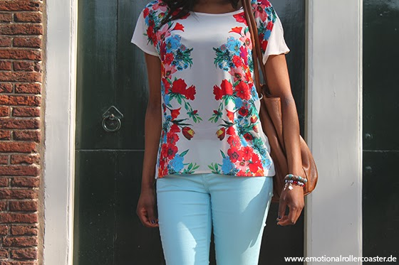 Outfit Forever 21 Frühling Sonne Blumenmuster