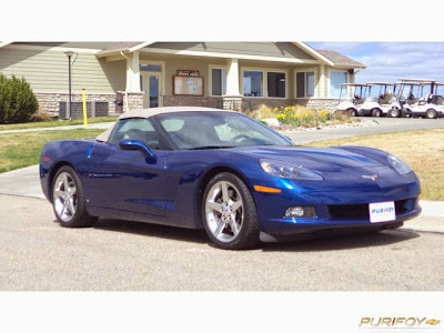 2007 Corvette Convertible at Purifoy Chevrolet