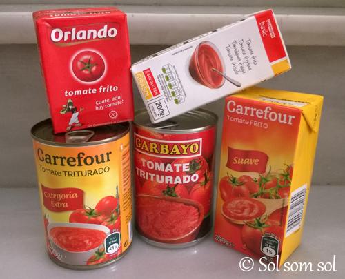 krossade tomater utan socker