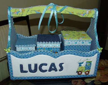 Kit higiene menino Lucas