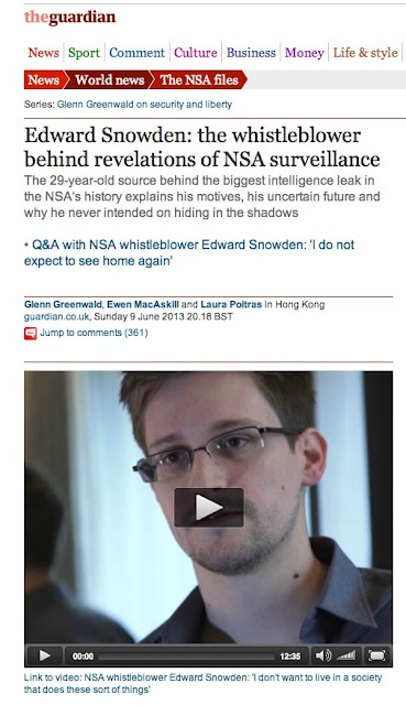 Edward Snowden, the Whistleblower