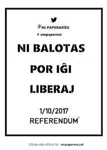 PDF-afiŝoj pri la referendumo