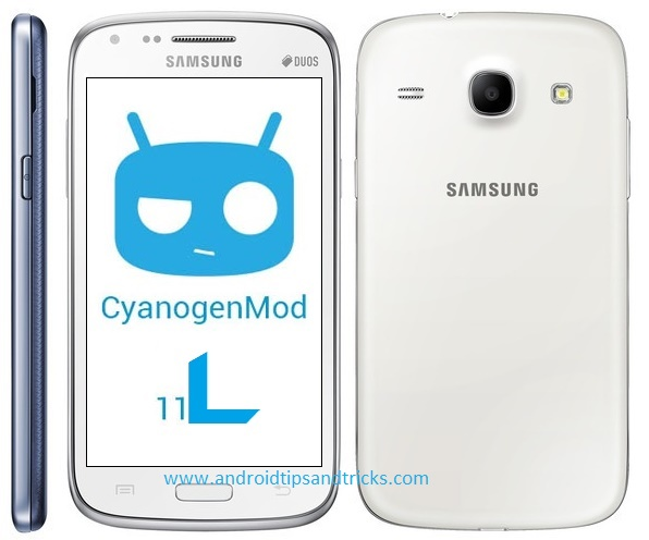 Android 4.4 (CM 11L) ROM for Samsung Galaxy Core i8262/i8260