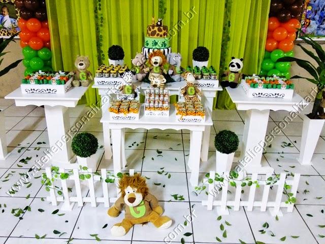 decoracao festa infantil safari provencal porto alegre