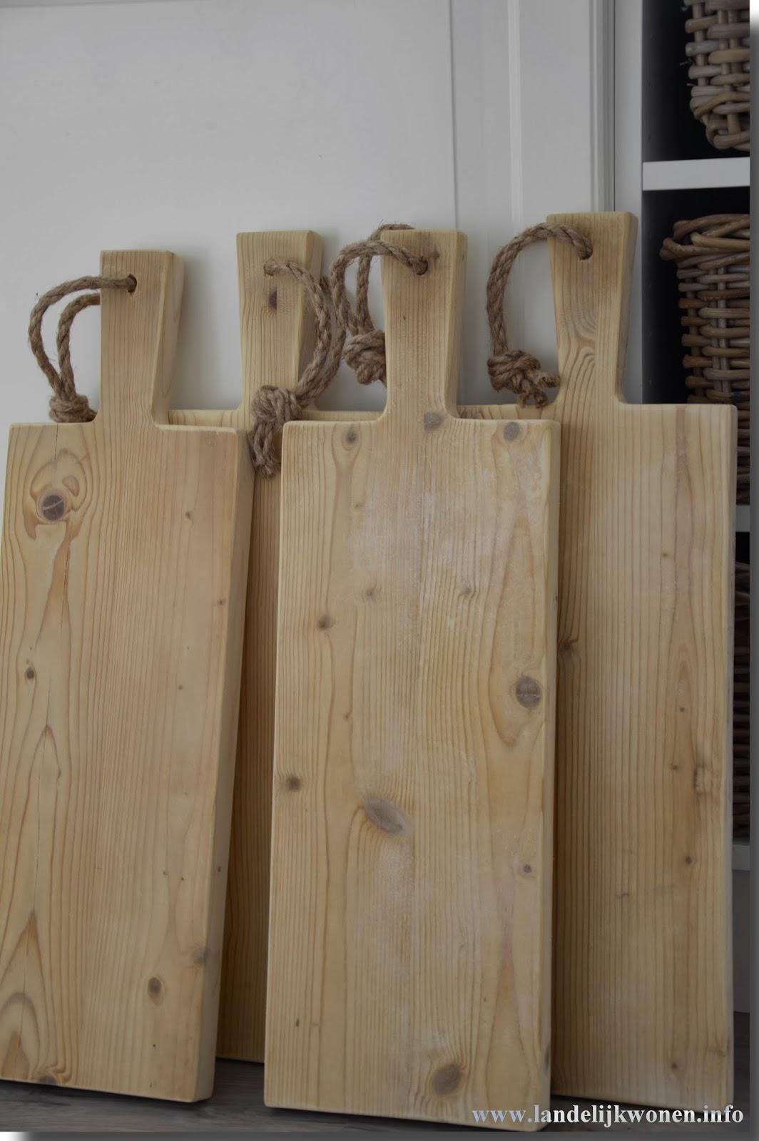 Zelf Een Steigerhouten Keuken Maken : Landelijk Wonen: Kaasplanken