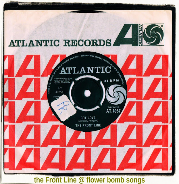 THE FRONT LINE - 'Got Love'/'I Don't Care' (Atlantic AT.4057) December ...