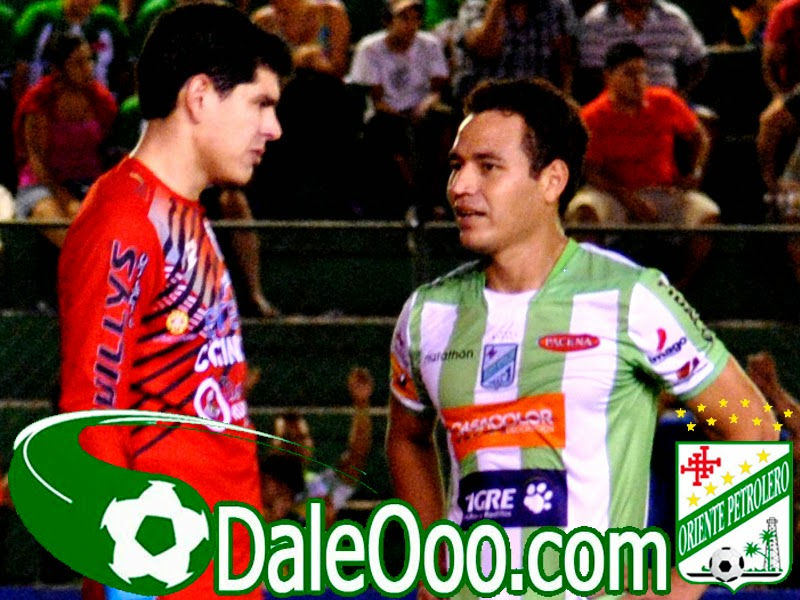 Oriente Petrolero - Carlos Lampe - Gualberto Mojica - Oriente Petrolero vs San José - DaleOoo.com página del Club Oriente Petrolero