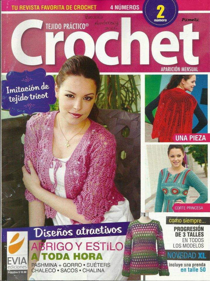 Revista: Tejido Práctico Crochet 2 (imperdible!)