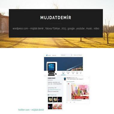 wordpress com - mujdatdemir