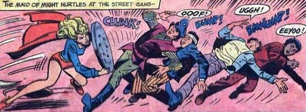 Supergirl #6, Clunk, Bump, Bawump!