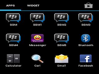 5 BBM Dalam Satu Android